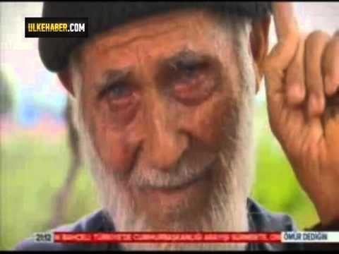 TRT'de Ömür Dediğin programında konuşan Mustafa dedenin ölen eşine olan ...