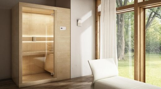 <strong>Arja</strong> nasce nel Centro Stile di Teuco: essenziale, ma al tempo stesso elegantee ricercata, con l'alternanza di pareti in cristallo e in legno, si ispira allo stile nordico da cui proviene la cultura della Sauna Secca.Tutti i modelli sono dotati dell'innovativa tecnologia <strong>Biosauna,</strong> un trattamento che combina le caratteristiche e i benefici propri della sauna secca e del bagno di vapore.Un <strong>pannello di controllo</strong> touch, posto all'esterno…