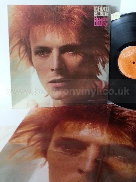 DAVID BOWIE space oddity, LSP 4813, includes poster - ROCK, PSYCH, PROG, POP, SHOE GAZING, BEAT