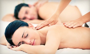 Groupon - $79 for a Couples Spa Package with Massage, Hydrotherapy, and Hors d'Oeuvres at Panaché Day Spa (Up to $175 Value) in Indianapolis. Groupon deal price: $79.0.00