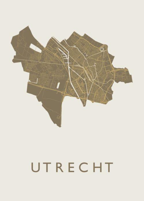 Utrecht Gold Map
