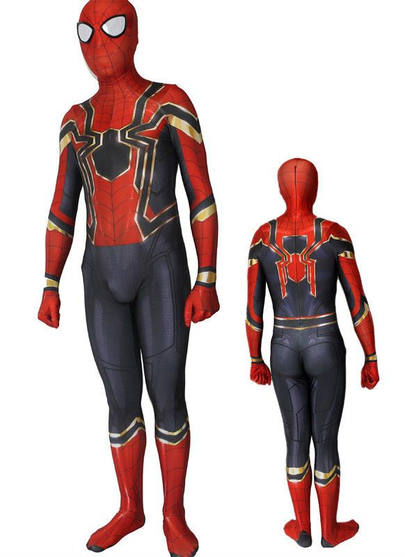 Children Spider-Man Homecoming Costume Superhero Cosplay Comic-con Fancy Dress
