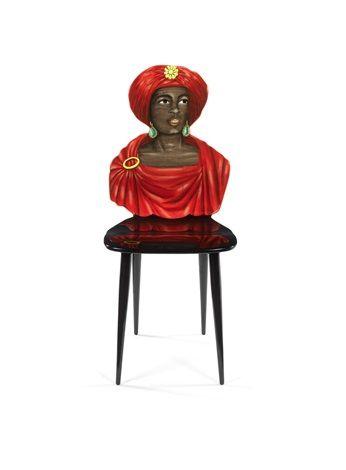 Moro (Moro) Chair da Piero Fornasetti