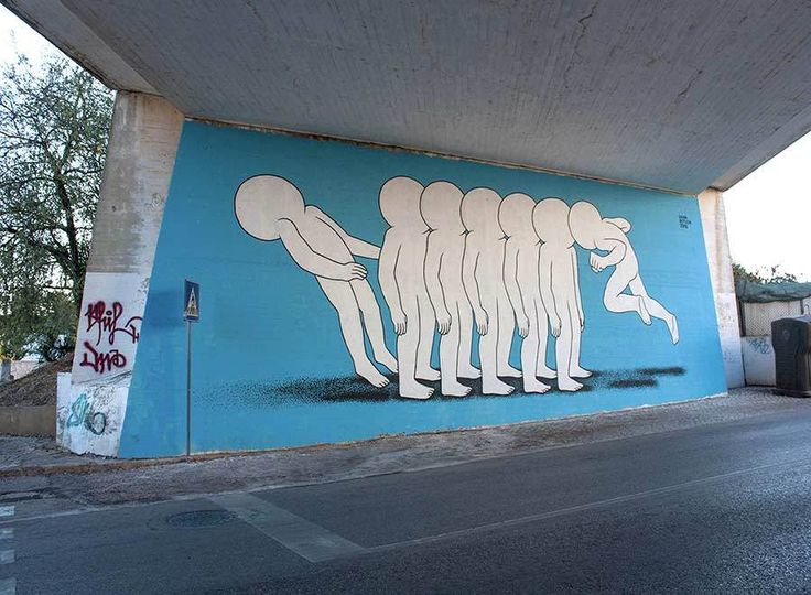 Best Art On The Streets Images On Pinterest Street Art - Artist creates clever street art installations that interact with their surroundings