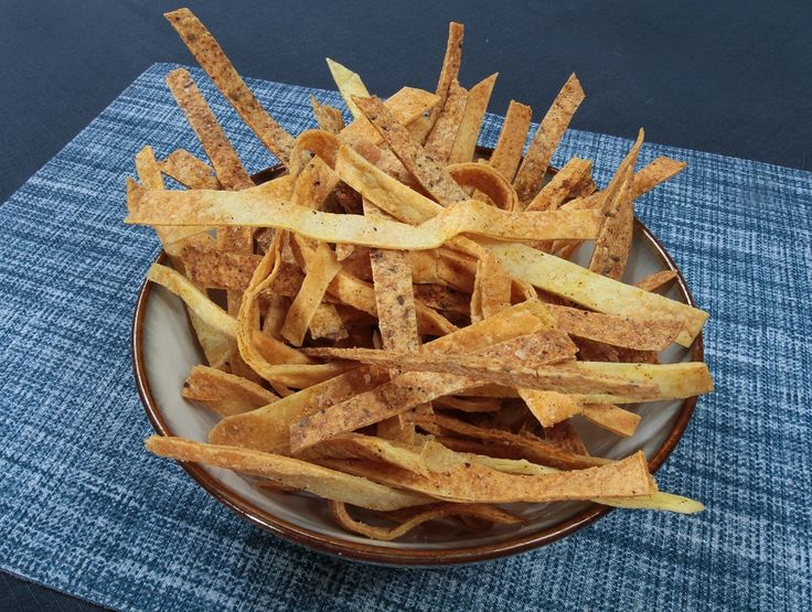 Looking to add some crunch to your salad or even just a snack? #Crispy #Tortilla Strips are simple and delicious!