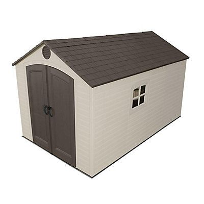 Get a Lifetime shed and life gets a lot easier! At Lifetime, we design attractive outdoor storage sheds to help you get your act together. With one of our outdoor sheds, you'll be able to find what you need, when you need it. Our sheds come with handy shelving units so your garden supplies are right at your fingertips. The Lifetime storage sheds are built and designed for style and quality. You'll appreciate the spacious head room, windows, and skylights, as well as the no paint, no r...