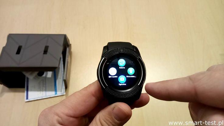 Smartwatch Hykker Chrono 3 - recenzja niedrogiego smartwatcha z Biedronki