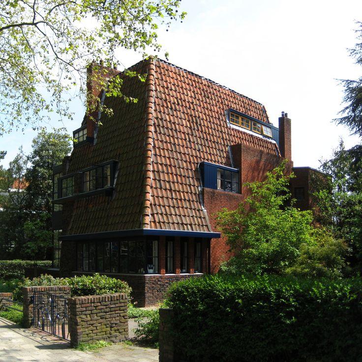 Dubbele Villa, Amsterdamse School Stijl, Groningen.