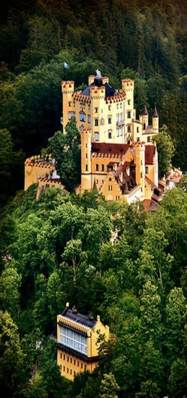 Hohenschwangau Castle ~ Germany  ♥ #Hohenschwangaucastle #castles #Germancastles #Germany