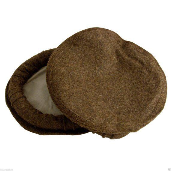 9fb6dd97c7a 100% Wool Afghan Pakul Chitrali Cap Pakol Hat Peshawari Handmade one size