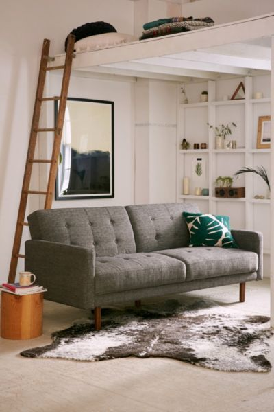 Berwick Mid-Century Sleeper Sofa - Best 25+ Sleeper Couch Ideas On Pinterest My Spare Room, Small