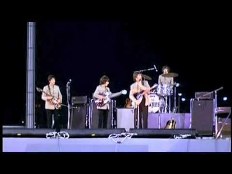 John Lennon Humour : Comedy clips from Shea Stadium - 1965