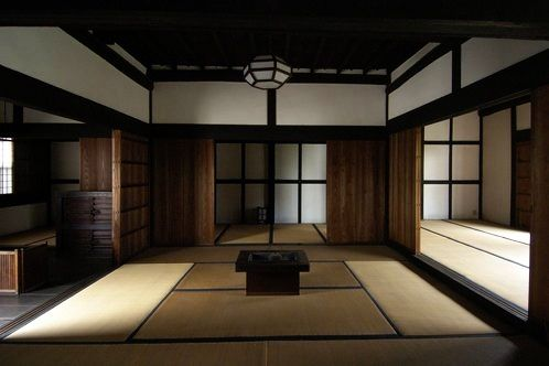 Inside a traditional house (Imaicho 今井町, Japan)