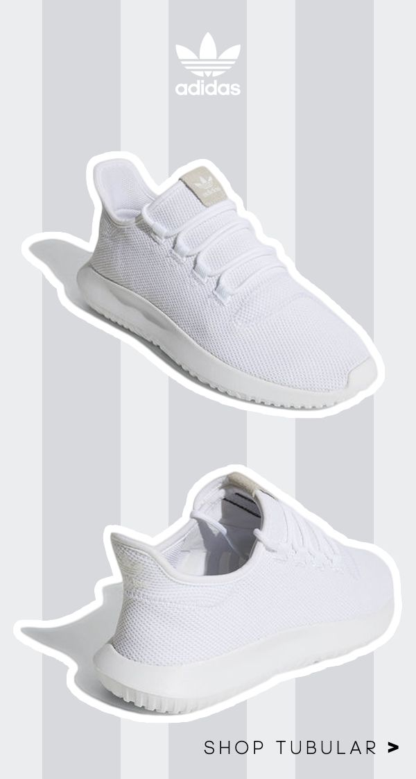 "For a new take on streetwear style, shop the adidas Originals Tubular Shadow Shoes. These shoes bring a sleek leather-look build to the Tubular series. Their upper pops with 3D texture and a bold diamond pattern. A ""burrito"" tongue provides a snug fit, completing this unforgettable look. Create your own future today."