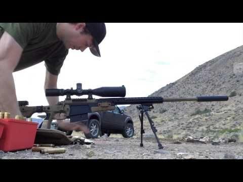 Muzzle Brake vs. Suppressor on a 7mm-300 Win Mag. Templar Tactical Archangel Suppressor - http://fotar15.com/muzzle-brake-vs-suppressor-on-a-7mm-300-win-mag-templar-tactical-archangel-suppressor/