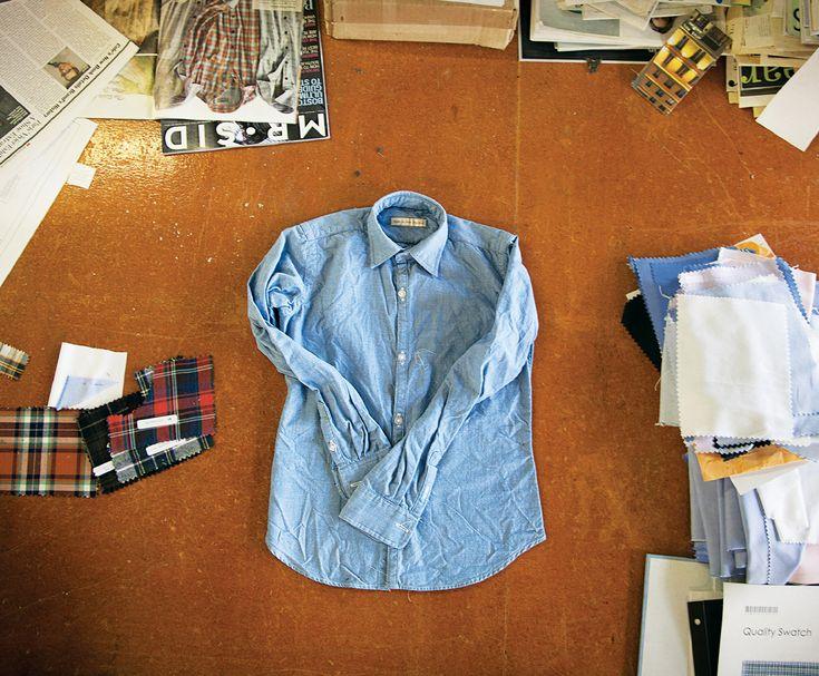 Shirts so good: Behind the scenes at New England Shirt Company in Fall River.