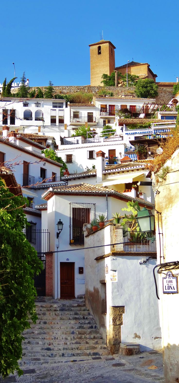 El Albayzín, Granada, Spain. El Albayzín is a district of present day Granada…