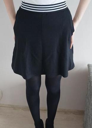 Kup mój przedmiot na #vintedpl http://www.vinted.pl/damska-odziez/spodnice/11394468-sliczna-czarna-spodniczka-reserved