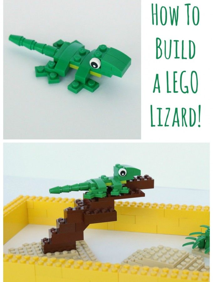 how to build a lego dragon easy