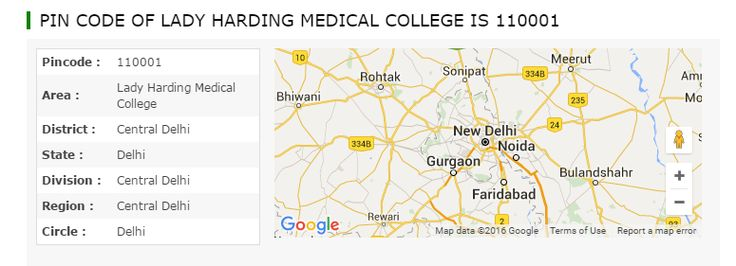 What is the pincode number list of Lady Harding Medical College Central Delhi area, district, region, circle, division, zone, sector, state of Delhi, India. Pincodeofindia.in provide search option to find post office postal code, pin code in very easy way.
