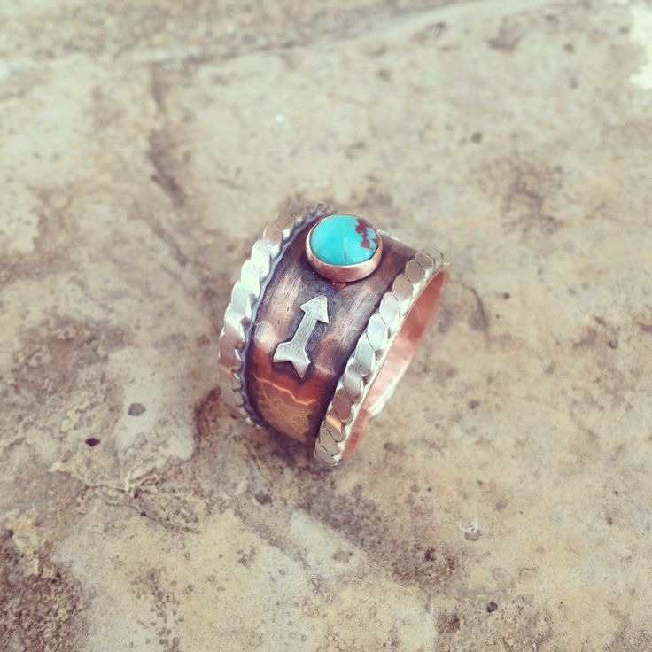 Copper ring handmade by Silo Silver
