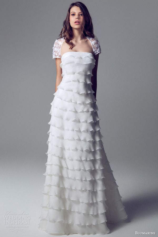 tiered wedding dress 25 best ideas about tiered wedding dresses on 7997