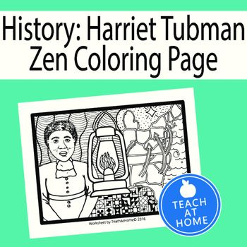 harriet tubman ver ms heres a fun coloring page that can go along with a unit about the underground railroad