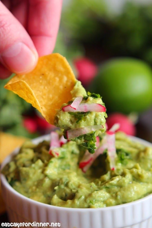 Tyler Florence's Guacamole  - I have already made this twice in one week - it's so yummy.