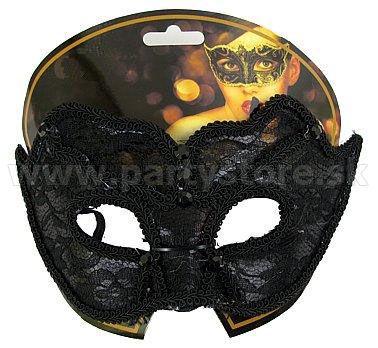 "Maska - škraboška "" Secret "" čierna"