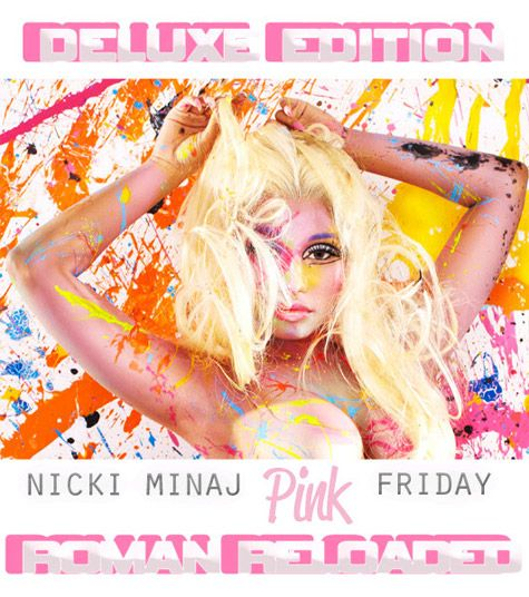 NICKI MINAJ Unveils Deluxe Cover of 'PINK FRIDAY: ROMAN RELOADED'