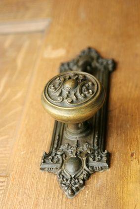 How to Clean Antique Brass Door Knobs