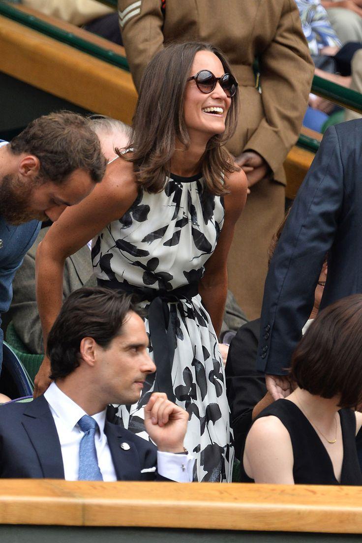 Celebrities Sitting Courtside at the 2014 Wimbledon Championships