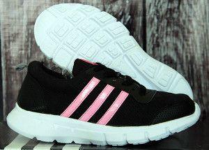 Detail Sepatu Anak : Merk : Adidas Color : Hitam Pink Kode : Adidas Climacool Junior Hitam Pink