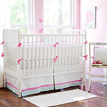 Sweet Baby Jane Baby Bedding: Sweets Baby, Baby Jane, Beds Skirts, Baby Beds, Nurseries Beds, Cribs Beds, Girls Nurseries, Beds Sets, Baby Nurseries