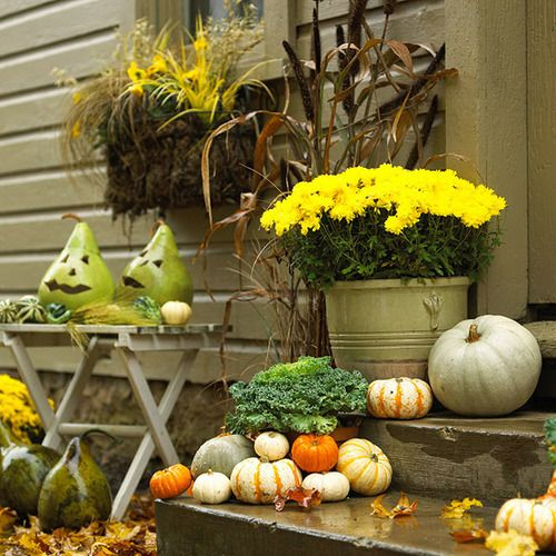 amazing decoration for your porch 90 fall porch decorating ideas - Fall Outdoor Decorations