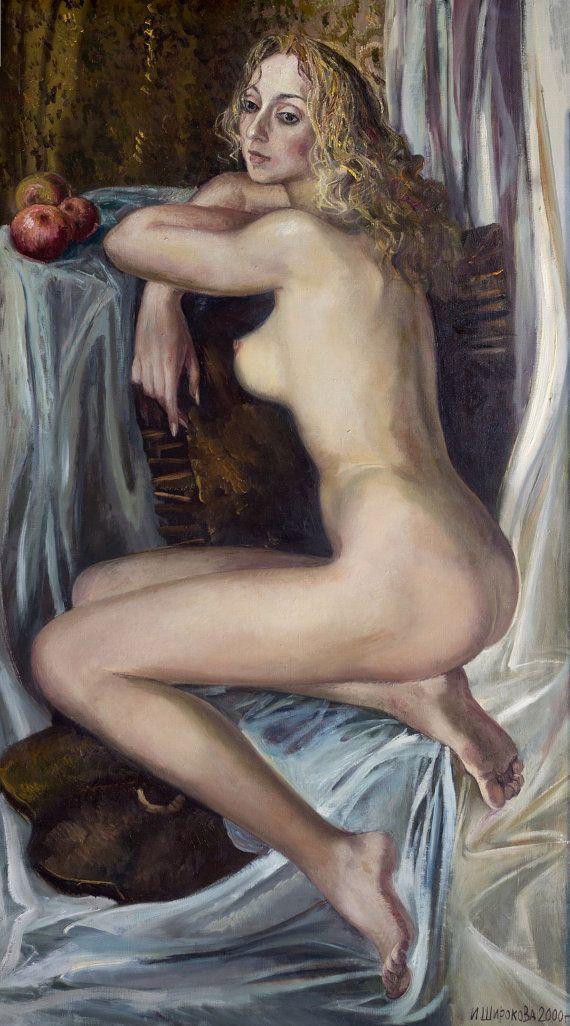 Nude  Figure Painting  Female Figure Erotic Woman от InnaShirokova