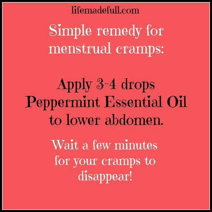 EO for menstrual cramps