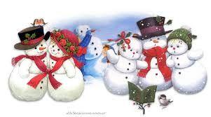 Resultado de imagen para imagenes de muñecos de nieve