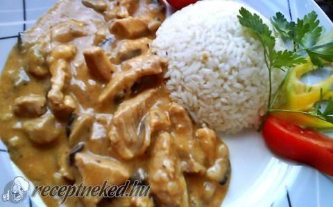 Bakonyi sertésragu recept fotóval