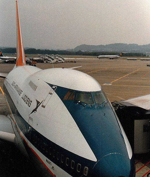 SAA 747 SP Maluti Zurich