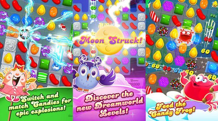Candy Crush Saga di Windows 10 akan Terinstall Otomatis