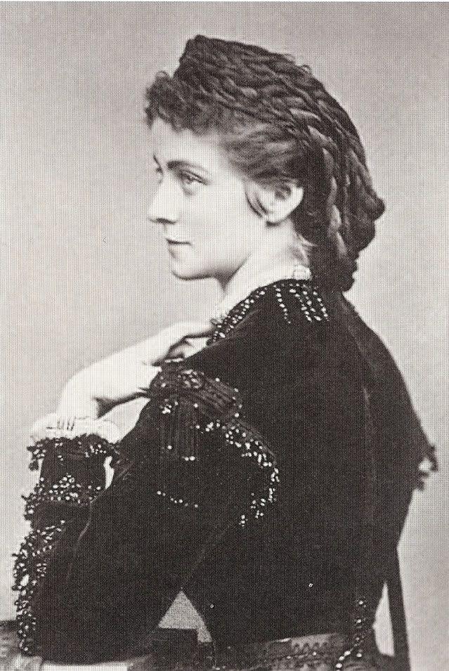 Herzogin Sophie d'Alençon, geborene Herzogin in Bayern.