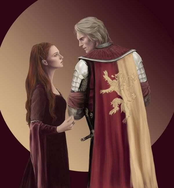 """Jaime Lannister """"I have made kings and unmade them. Sansa Stark is my last chance for honor."""""""