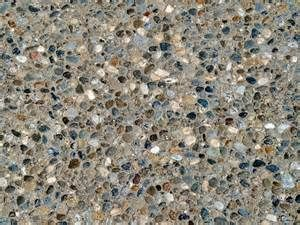 exposed aggregate concrete sealing - transparent, Low & High gloss ...