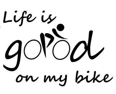 Life is good... on my BROTHERS Bike! :)