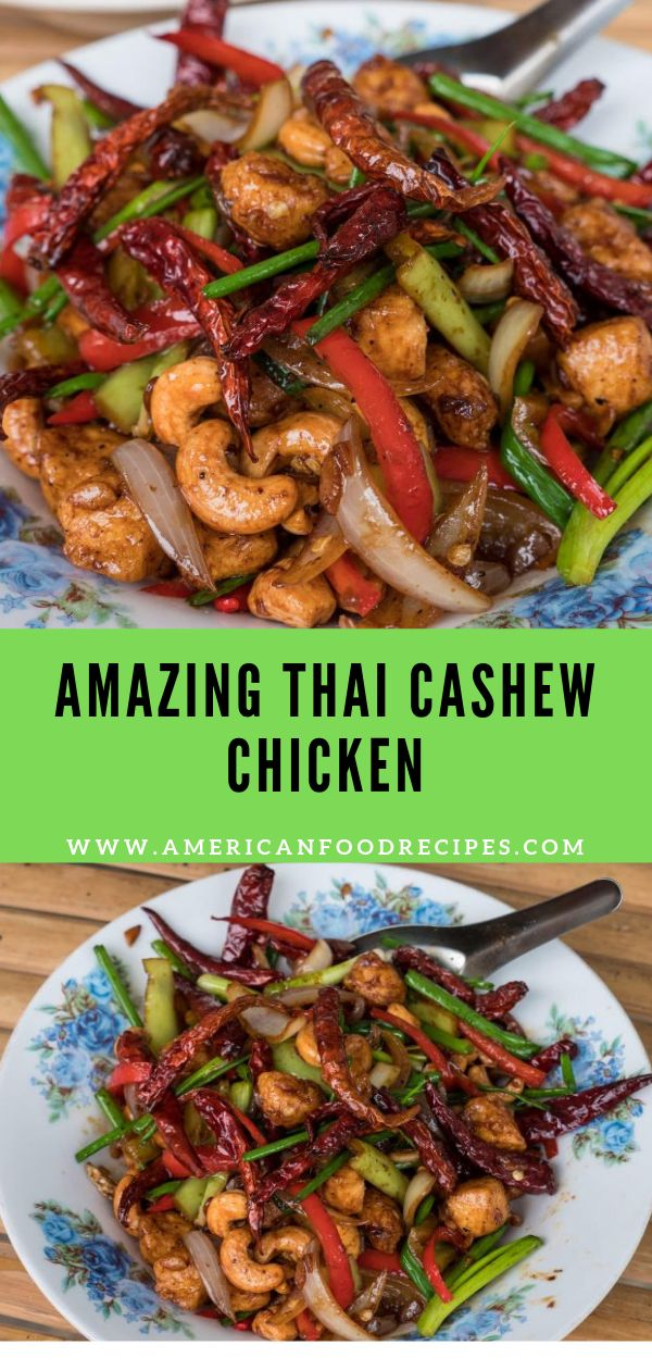 Amazing Thai Cashew Chicken Recipe – Asian Food Inspirations