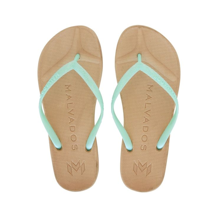 Malvados Playa in Snow Cone is a luxurious and comfortable flip flop with molded footbed