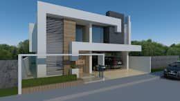 Proyectos Recientes: Casas de estilo moderno por CouturierStudio
