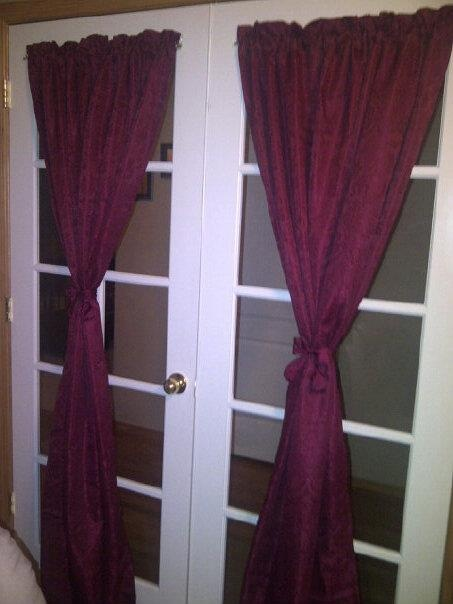 1000 Images About French Door Cover On Pinterest Hooks