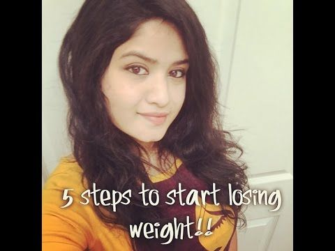 5 easy steps to start #LOSING #WEIGHT